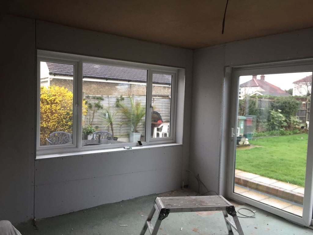 Conservatory electrical installation
