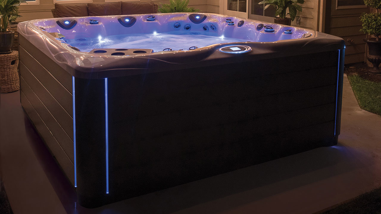 What are the electrical requirements for a hot tub?